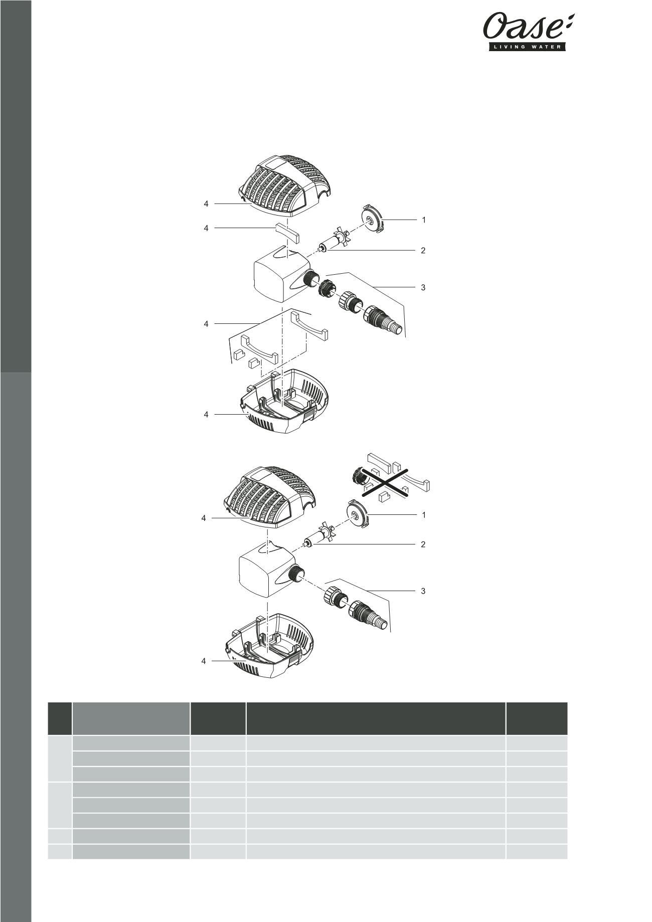 e3458a830368dd OASE   Catalogue Pièces Détachées 2016 - page 62