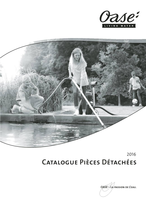 Oase Catalogue Pièces Détachées 2016