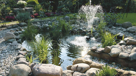 Garden Ponds With Waterfalls Landscaping