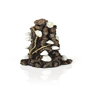 biOrb schelp op schors ornament wit