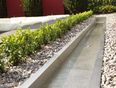 Wasserspiel auf der Terrasse - OASE