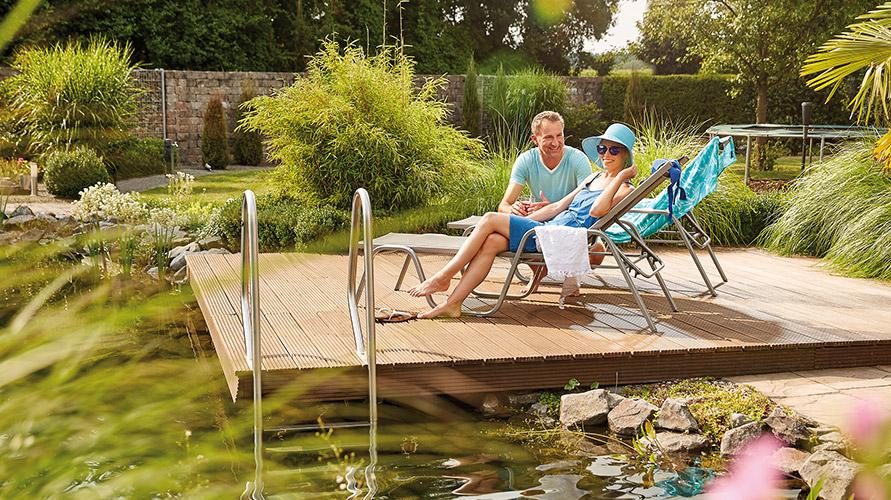 Wasser Im Garten : Wasser garten oase